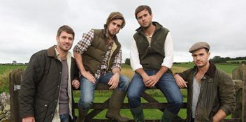 Yeo Valley boyband look set to moo-ve up the Charts