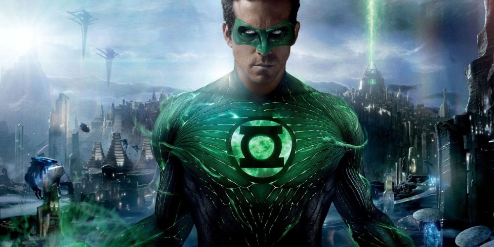 The Green Lantern to top the Official Video Chart