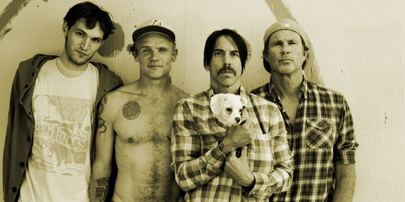 Red Hot Chili Peppers complete UK singles and albums chart history
