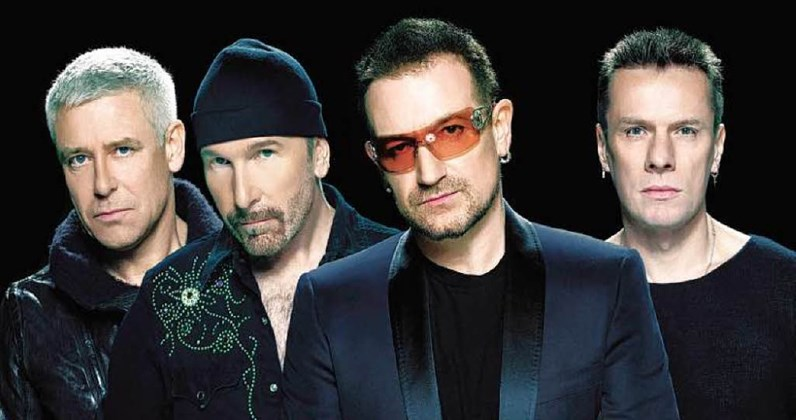 U2 complete UK singles and albums chart history