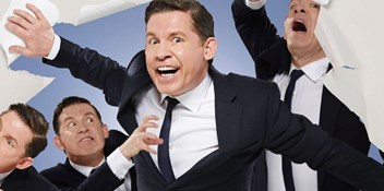 Lee Evans gets set for special 3D screenings this weekend