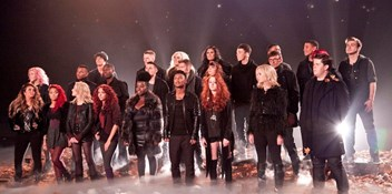 X Factor Finalists heading for fourth charity Number 1 single