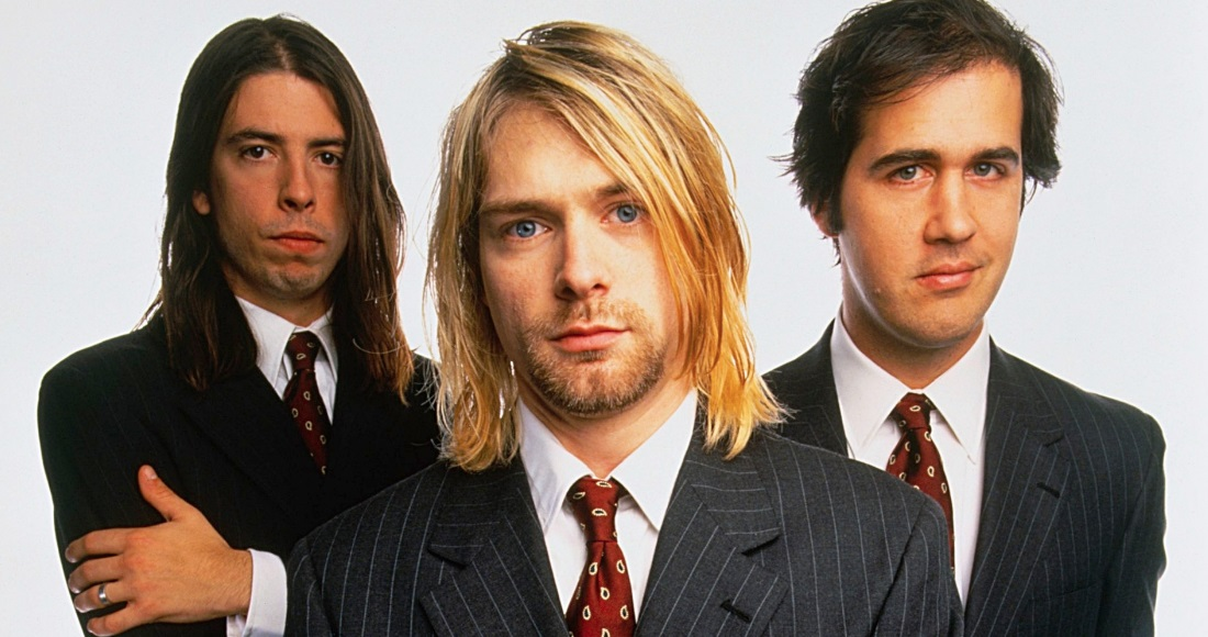 Nirvana complete UK singles and albums chart history