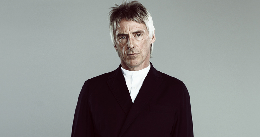 Paul Weller complete UK singles and albums chart history