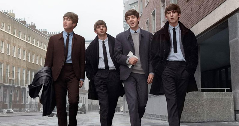 The Beatles' Official Top 40 most streamed songs