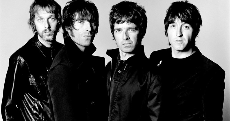 Oasis complete UK singles and albums chart history