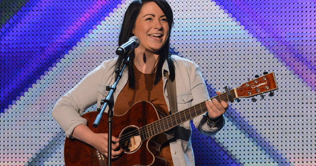 X Factor star Lucy Spraggan scores second biggest selling track this w