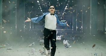 Gangnam Style is the UK's most listened to track