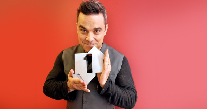Robbie Williams complete UK singles and albums chart history