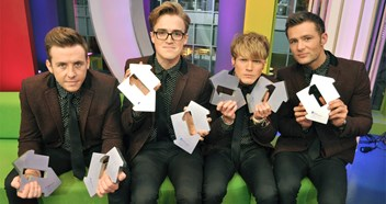 McFly honoured with seven Official Number 1 Awards!