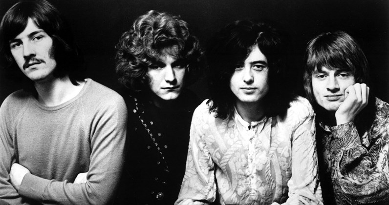 Led Zeppelin complete UK singles and albums chart history