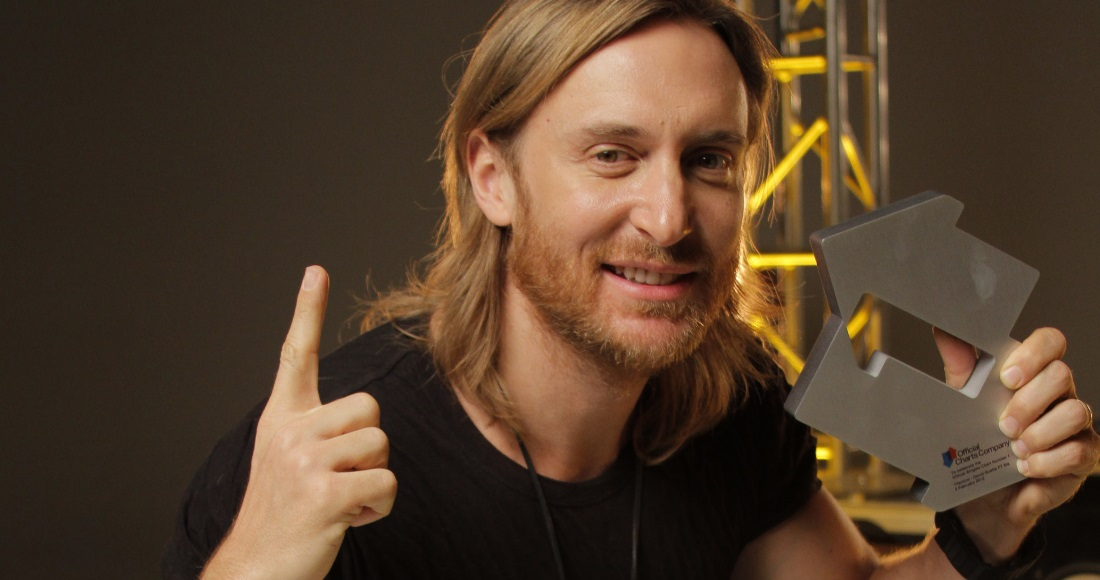 David Guetta complete UK singles and albums chart history