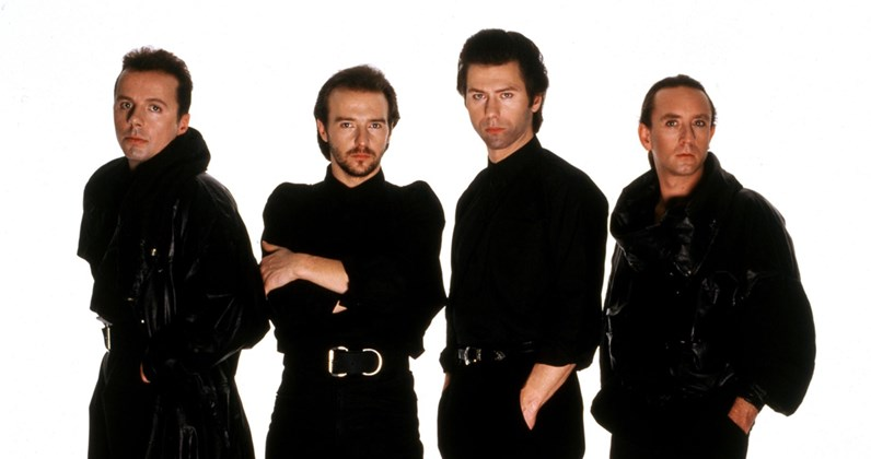 Ultravox complete UK singles and albums chart history