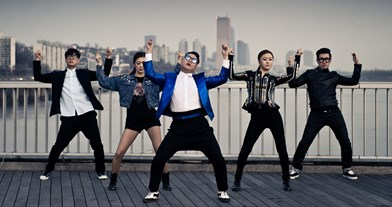 Psy complete UK singles and albums chart history