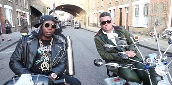 Dizzee Rascal teams up with Robbie Williams for new single