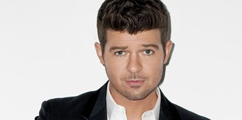 Robin Thicke's Blurred Lines drops out of the Top 40