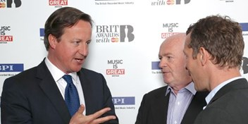 PM David Cameron hails British music talents