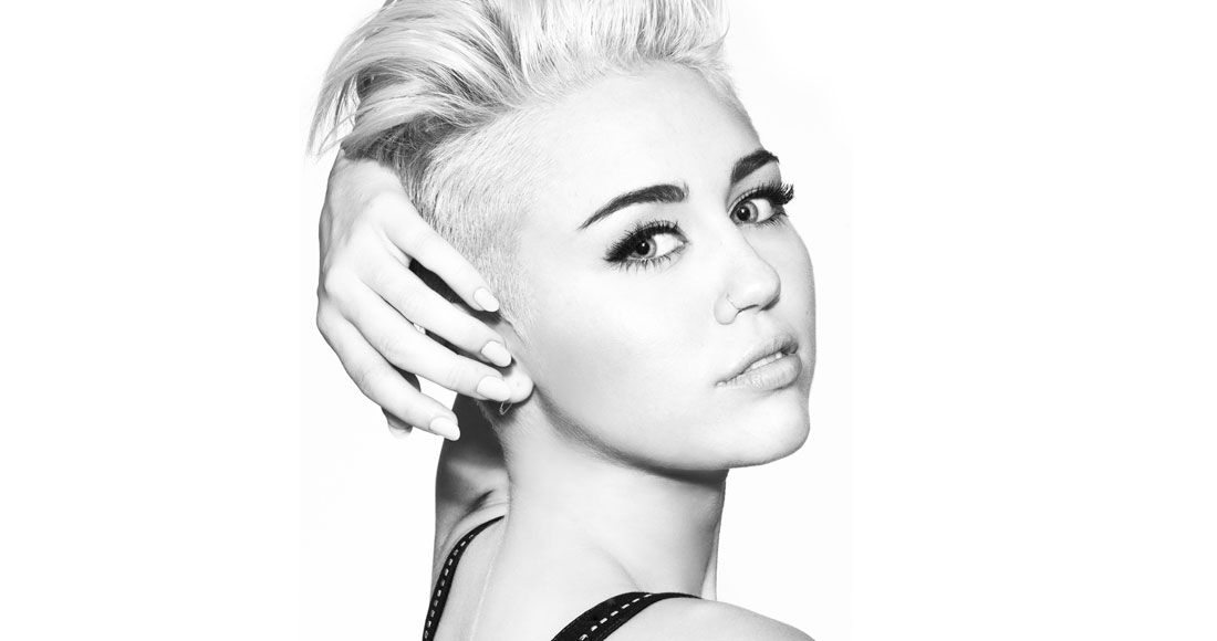 Miley Cyrus complete UK singles and albums chart history