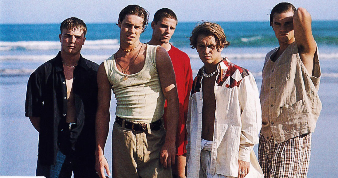 Take That landed their first Number 1 24 years ago this week