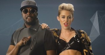 Will.I.Am and Miley Cyrus neck-and-neck with Clean Bandit in singles r
