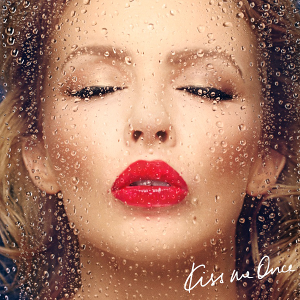 Kylie Minogue - Kiss Me Once album artwork