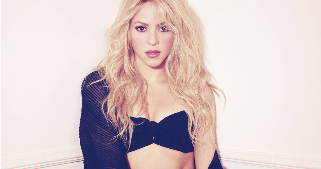 Shakira's Official Top 10 biggest singles revealed