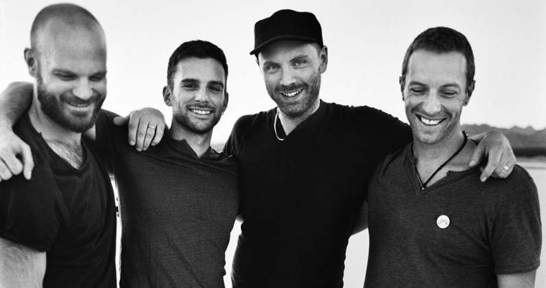 Coldplay complete UK singles and albums chart history