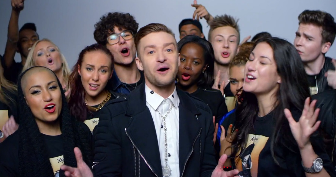 Watch the video for Michael Jackson and Justin Timberlake's Love