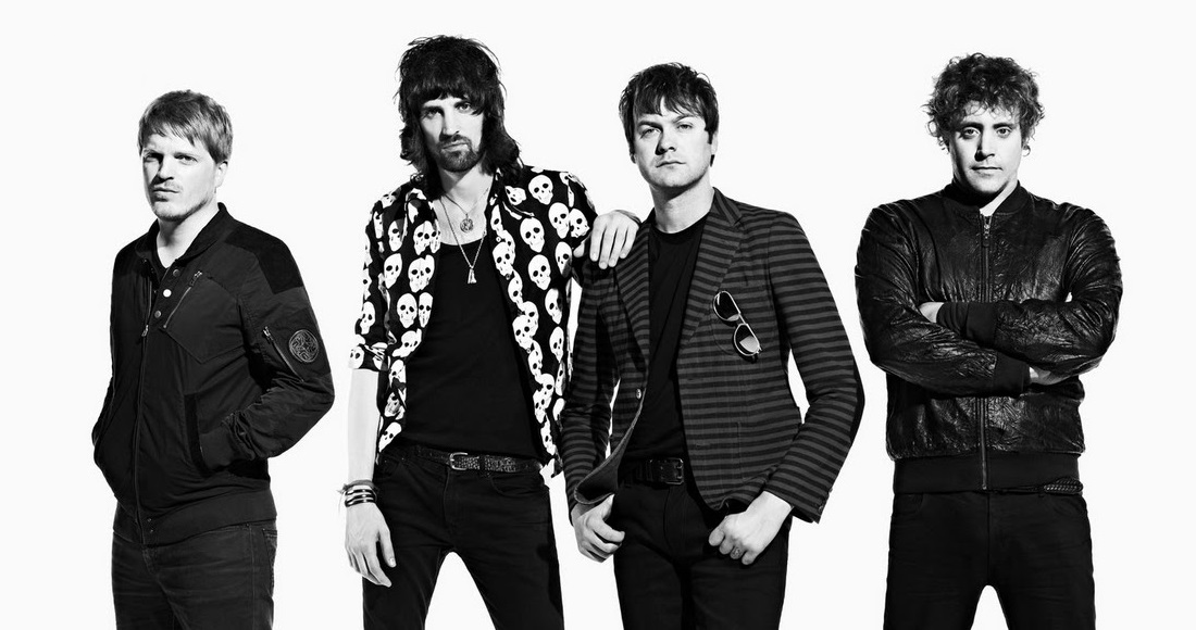 Kasabian complete UK singles and albums chart history