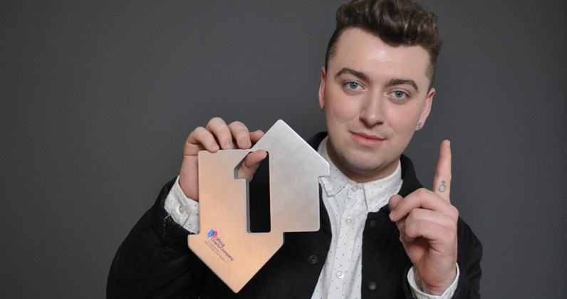 Sam Smith complete UK singles and albums chart history