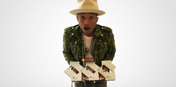 Pharrell's Happy now the UK's most downloaded track of all time