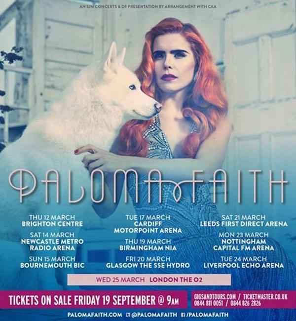Paloma Faith announces...