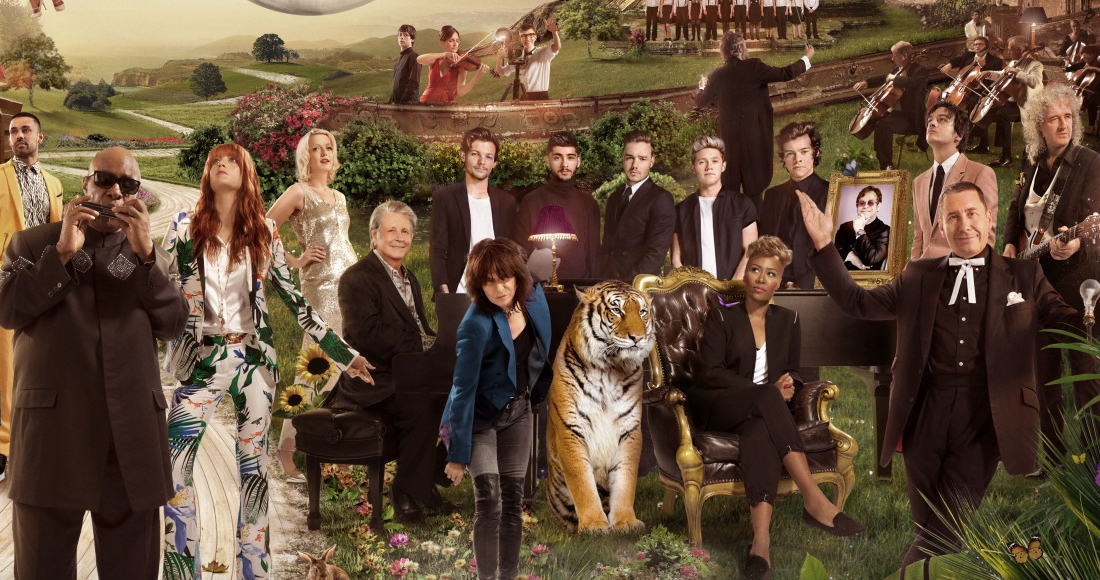 Sir Elton John, One Direction, Kylie for 2014 Children In Need single