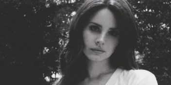 Lana Del Rey walks down the aisle Ultraviolence music video