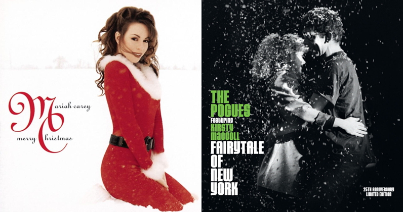Mariah Carey Christmas Album Cover.Mariah And The Pogues Set To Enter Christmas Number 1 Race
