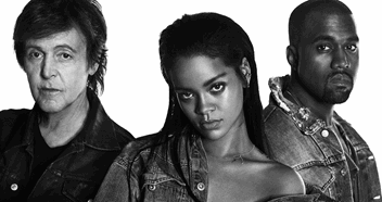 Watch Rihanna, Kanye West & Paul McCartney's FourFiveSeconds video