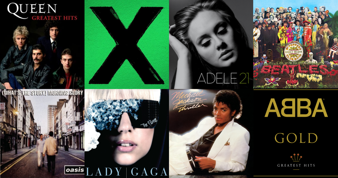 Check out the full list of every Number 1 album in Official Charts history.
