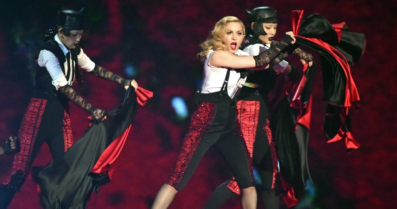Madonna's Living For Love hurtling towards Official Chart Top 20