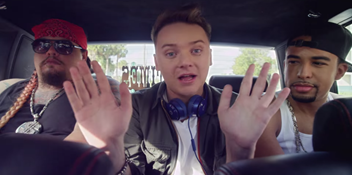 Watch the video for Conor Maynard's new single Talking About