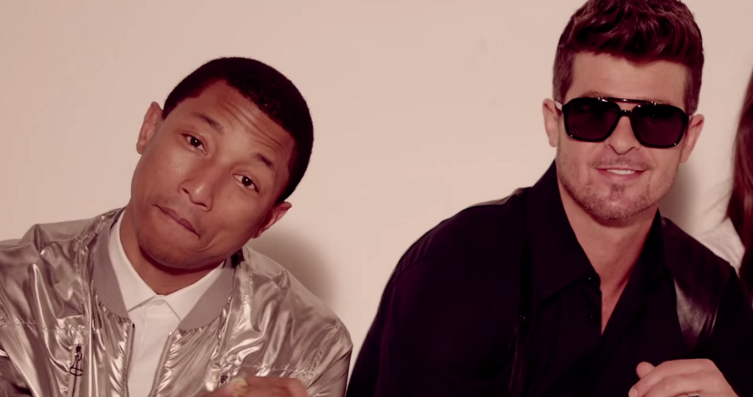 Robin Thicke and Pharrell to pay $5m in copyright case — Blurred Lines