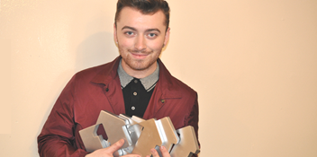 Sam Smith joins The Beatles in Official Chart history books