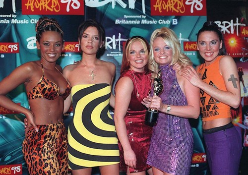 Spice Girls at the 1998 BRIT Awards