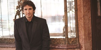 Josh Groban on track for first UK chart-topping album with Stages