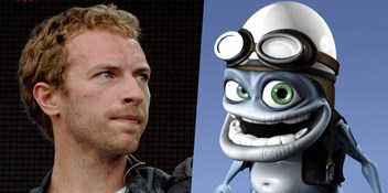 Number 1 today in 2005: Crazy Frog beats Coldplay to the top