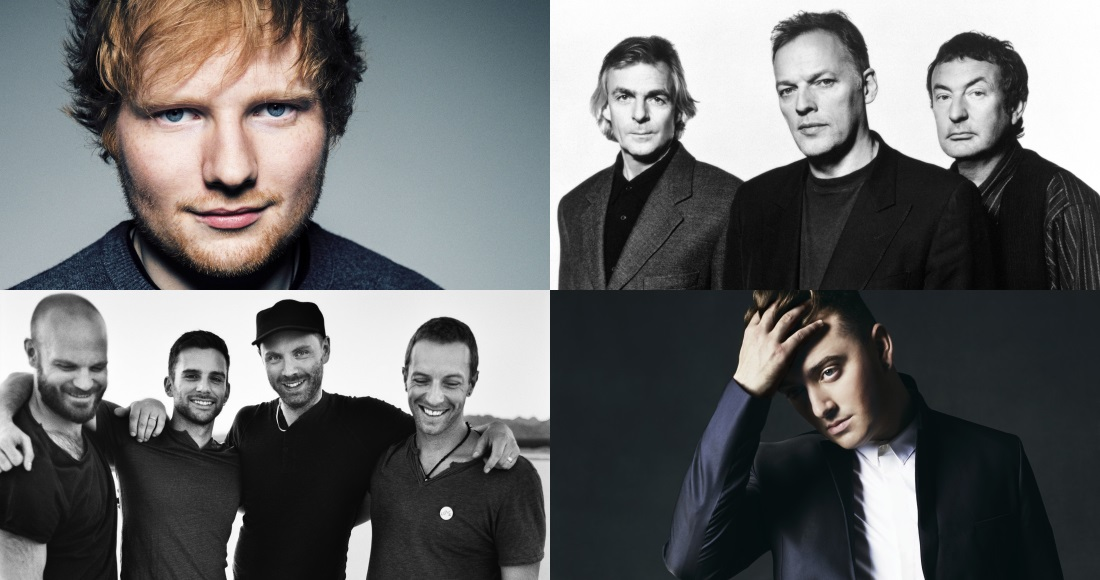 Top Artists Of 2014 british acts dominate global best-sellers list
