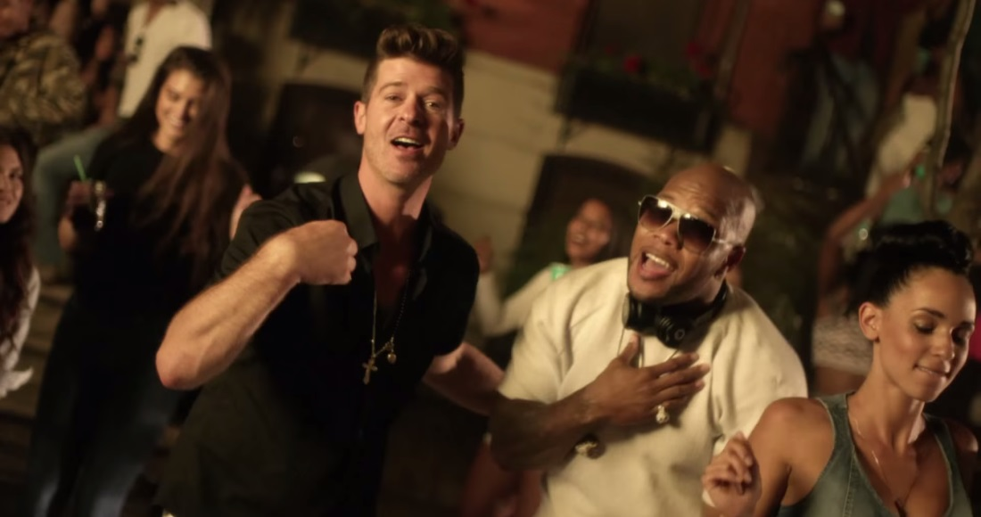 Flo Rida and Robin Thicke party in new music video