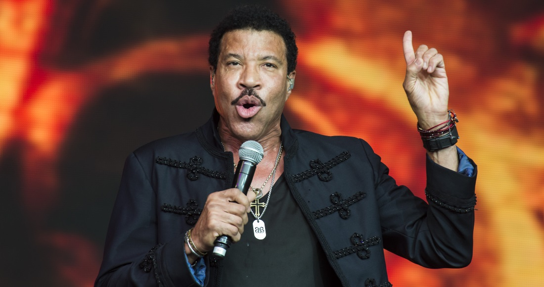 Lionel Richie's 2018 UK summer tour support acts announced