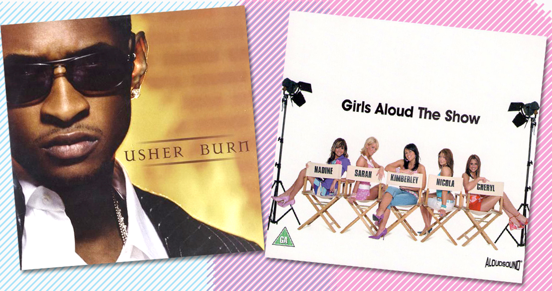 Number 1 today in 2004: Usher beats Girls Aloud to the top