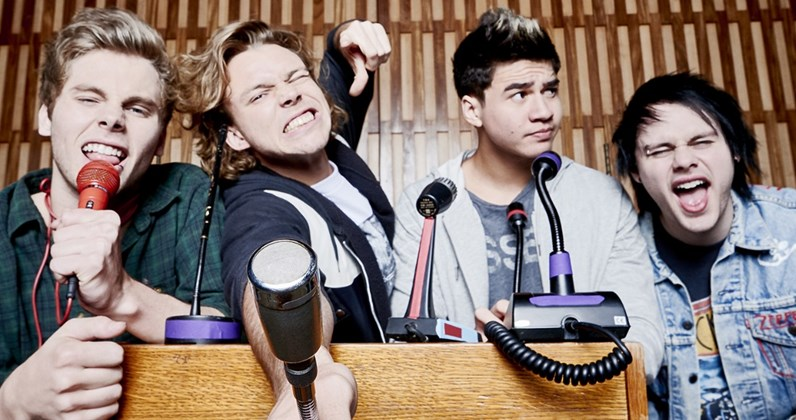 5SOS reveal artwork and tracklisting for new album
