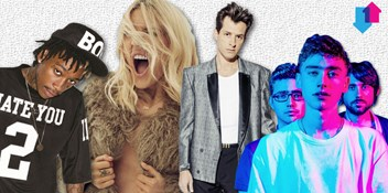 The Official Top 40 Biggest Songs of 2015 so far